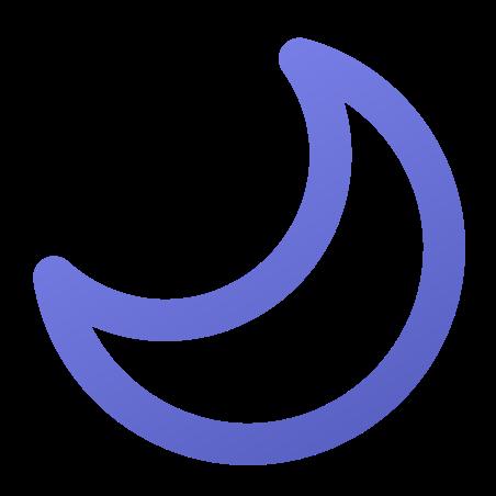Lua crescente icon