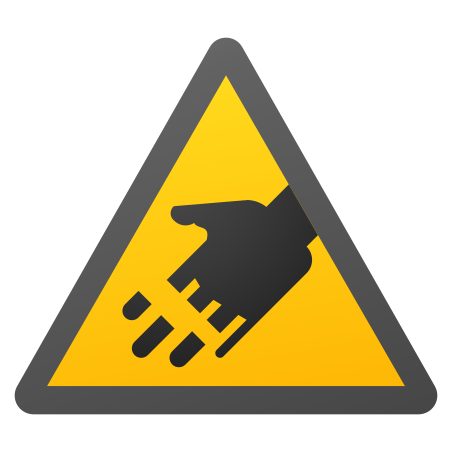 Cutting Hazard icon