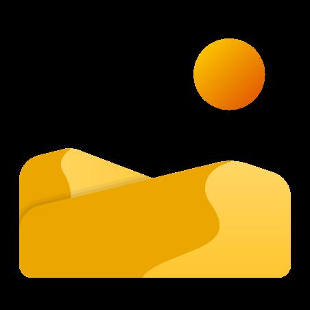 Desert Landscape icon
