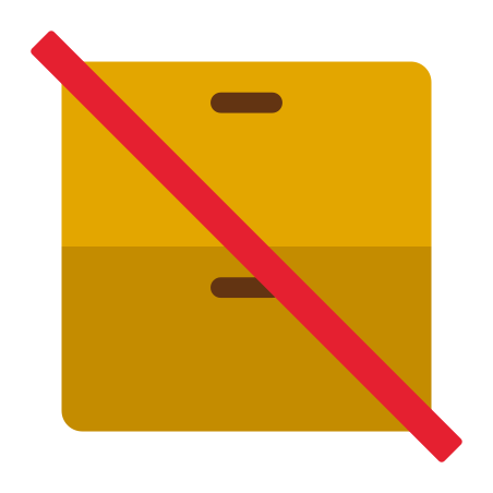 Do Not Stack icon