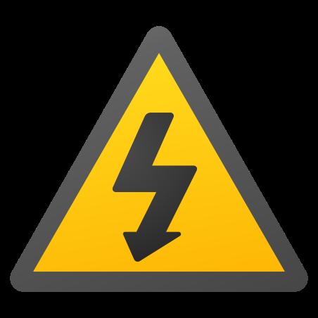 Electricity Hazard icon