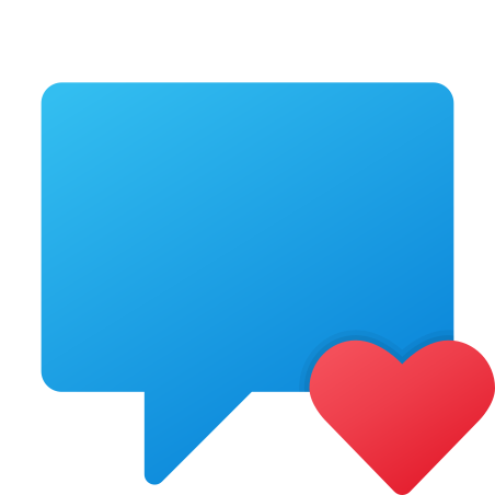 Favorite Chat Message icon