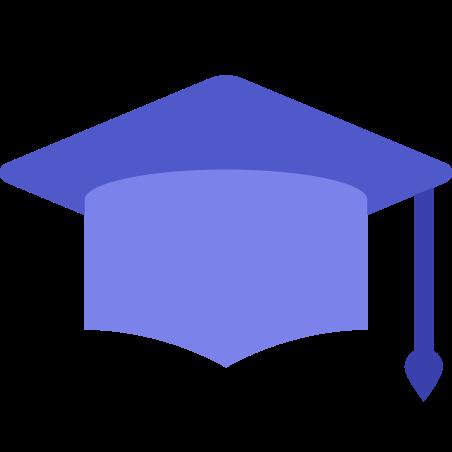 졸업 모자 icon