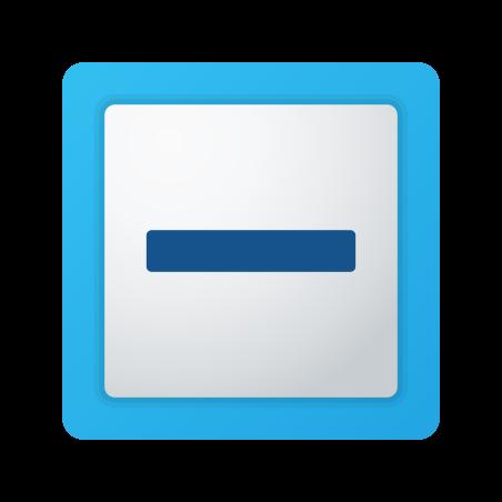 Indeterminate Checkbox icon