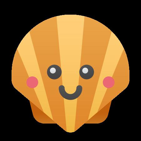 Kawaii Shellfish icon