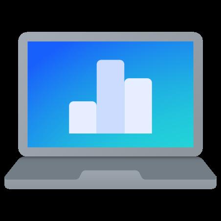 Laptop Metrics icon