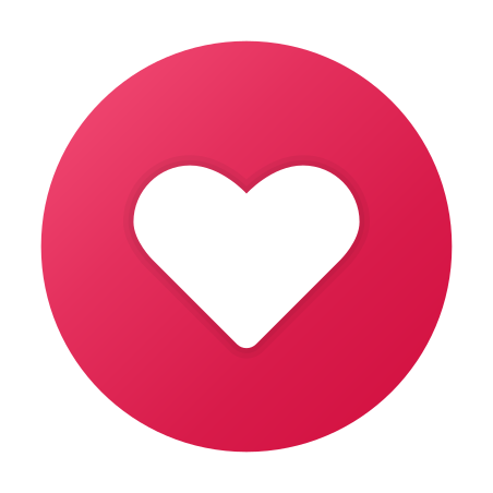 Love Circled icon