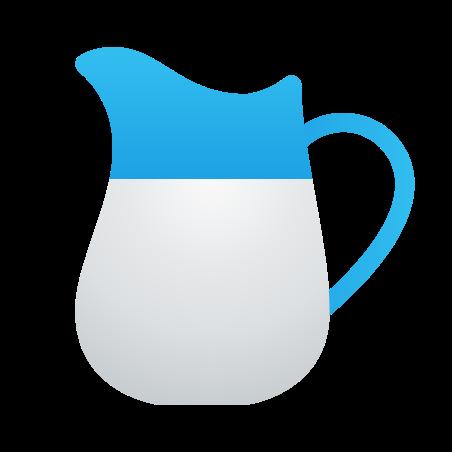 Milk icon in Fluent
