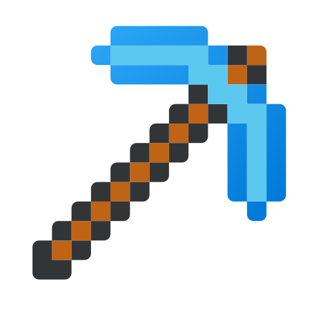 Minecraft Pickaxe icon