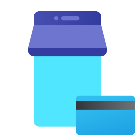 Mobile Shop Payment icon