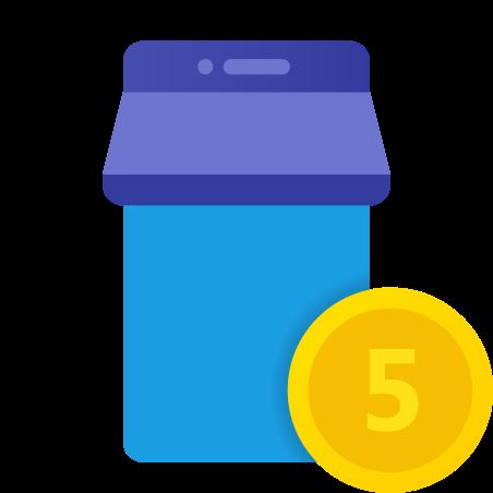 Mobile Shop Coins icon