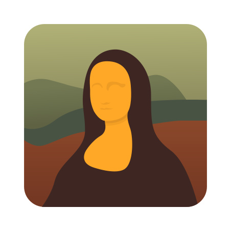 Mona Lisa icon