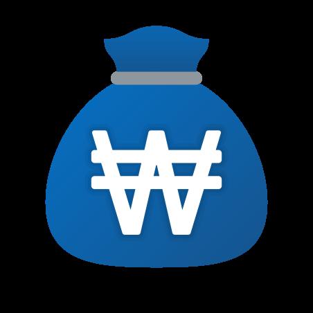 Money Bag Won icon
