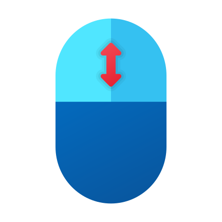 Mouse Scrolling icon