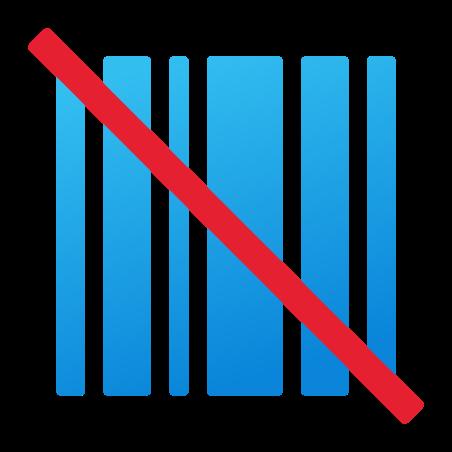 No Barcode icon