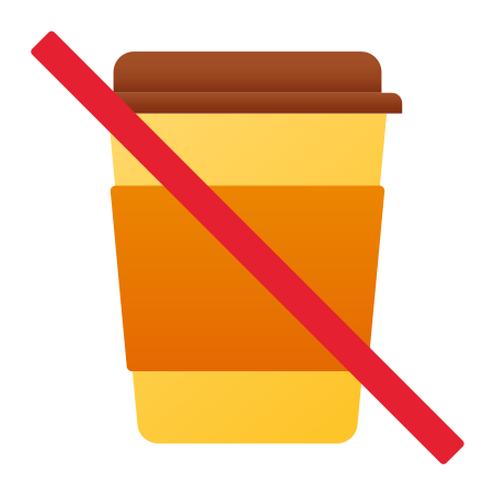 No Beverages icon