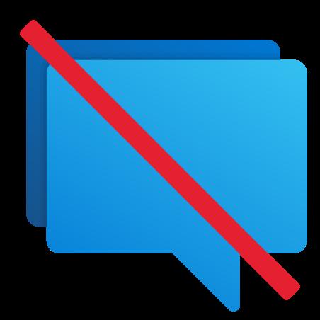 No Chat icon
