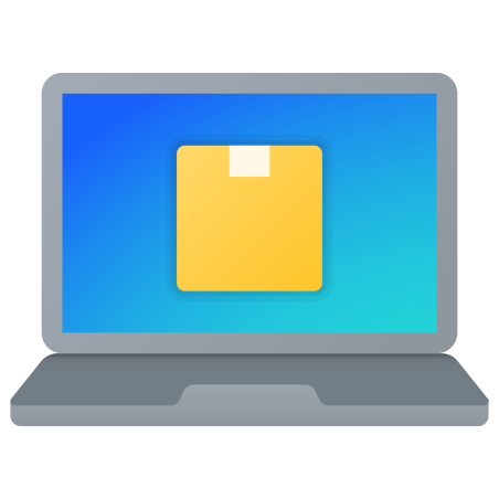 Online Package Tracking icon