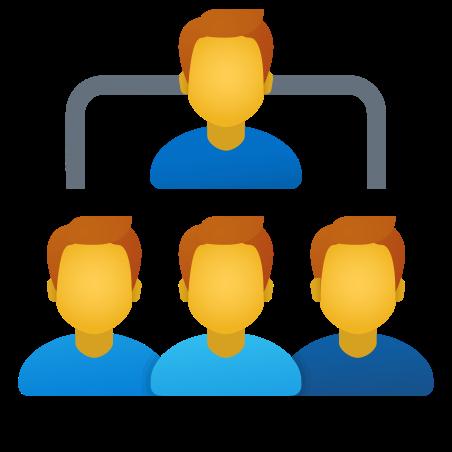 Organization Chart People icon