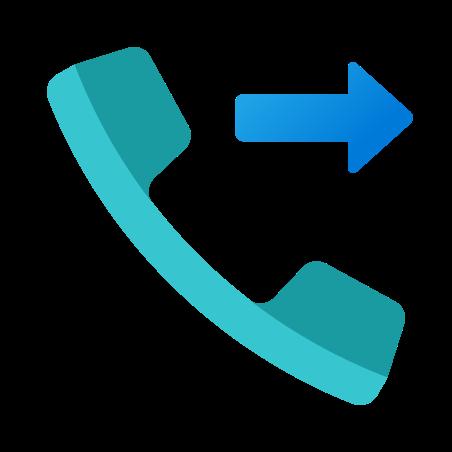 Outgoing Call icon