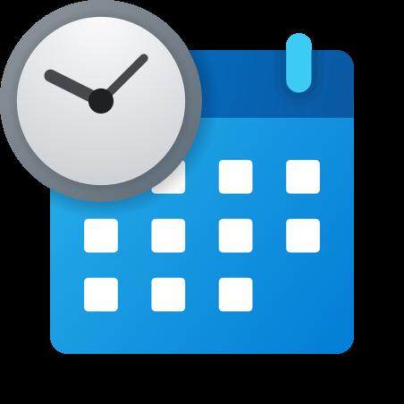 Schedule icon in Fluent