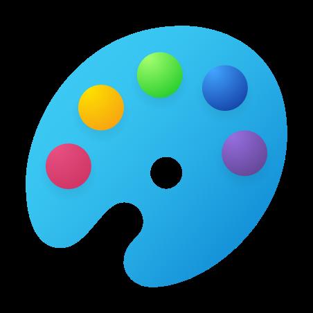 Paint Palette icon in Fluent