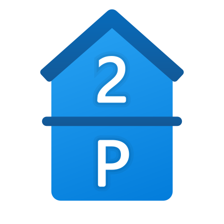Parking and 2nd Floor icon