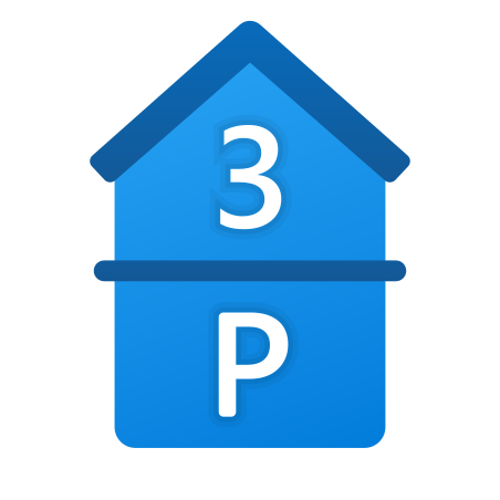 Parking and 3rd Floor icon