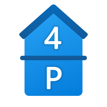 Parking and 4th Floor icon