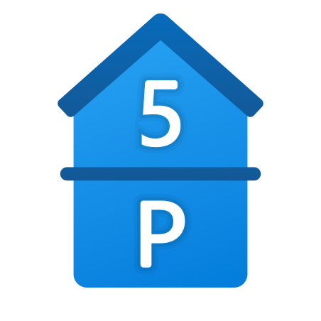 Parking and 5th Floor icon