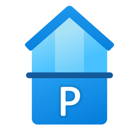 Parking and Penthouse icon