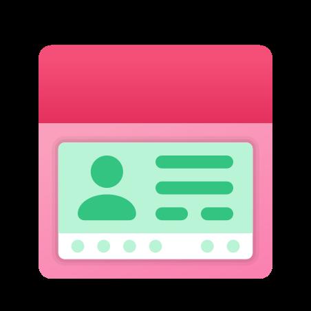 Passport With Visa icon