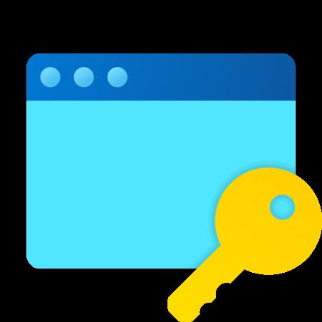 Password Window icon in Fluent