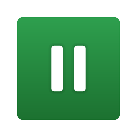 Pause Squared icon