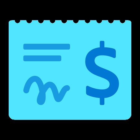 Paycheque icon