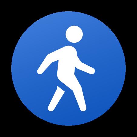 Pedestrians icon