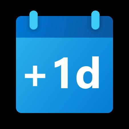 Plus 1 Tag icon
