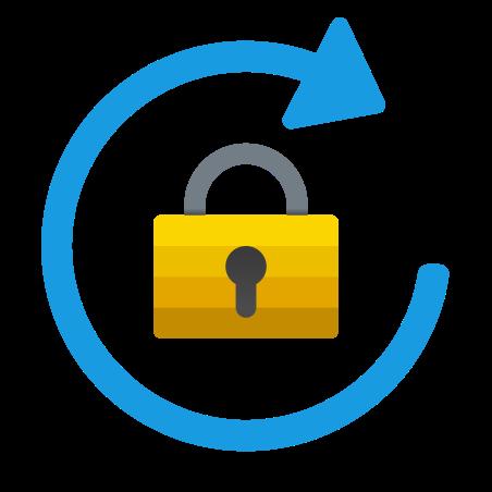 Portrait Orientation Lock icon