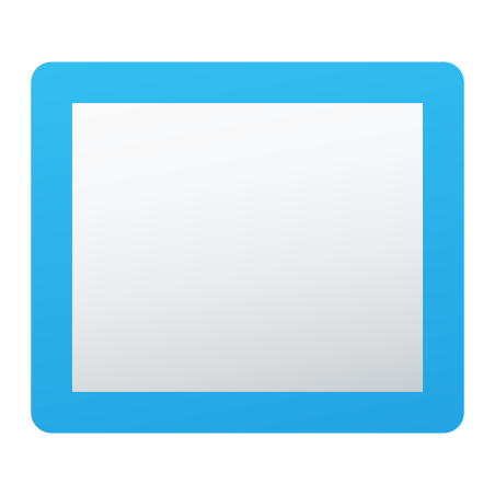 Rectangular icon