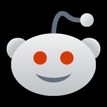 Reddit icon in Fluent