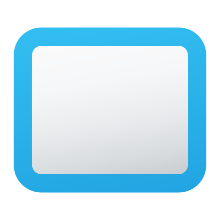 Rounded Rectangle Stroked icon