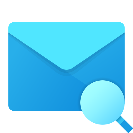 Search in Mail icon in Fluent