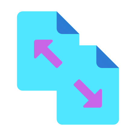 Separate Document icon