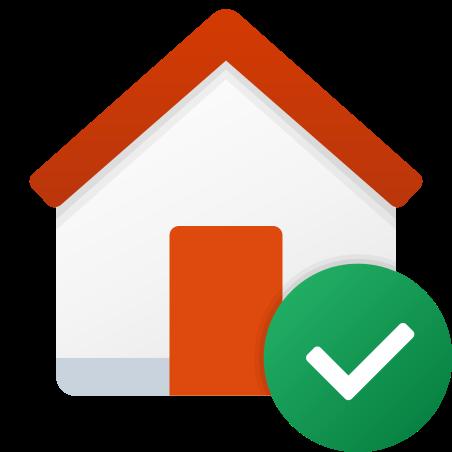 Smart Home Checked icon
