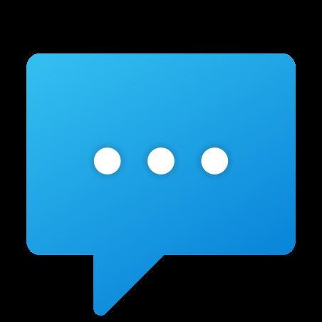 SMS icon in Fluent