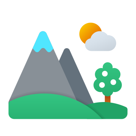 Spring Landscape icon in Fluent