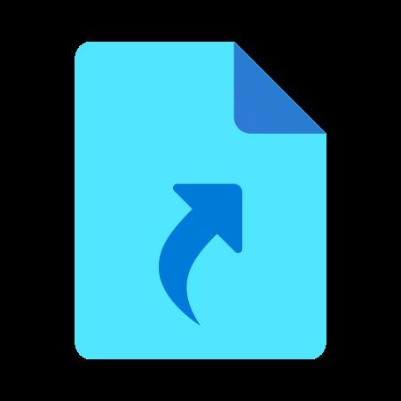 Symlink File icon