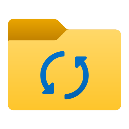 Synchronize Folder icon