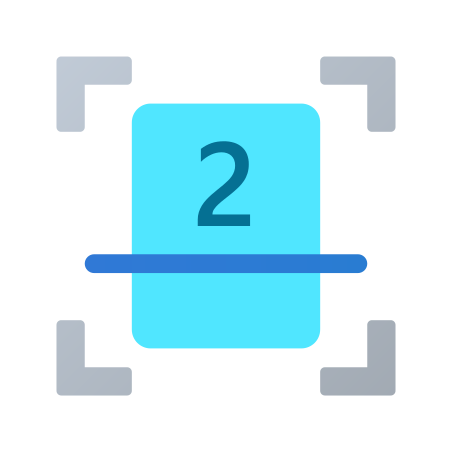 Two Sided Scanning icon