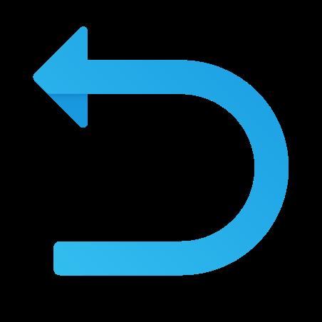 U Turn to Left icon